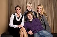 Familien Fotoshooting - Wels