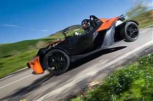 KTM X-BOW fahren