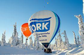 Ballon-Abenteuer Arktis