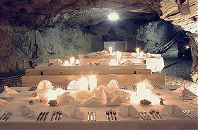 Dinner im Bergwerk