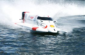 Formel 1 Powerboot Race Taxi