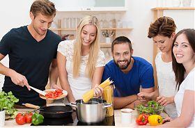 Kochkurs für Studenten