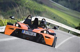KTM X-BOW fahren