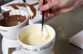 Malen mit Schokolade