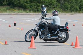Motorrad WarmUp Training