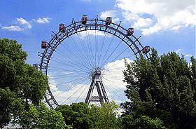 Wiener Riesenrad Kaffeetratsch f�r Vier