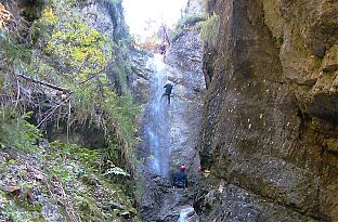 Canyoning Halbtagestour - Johnsbach