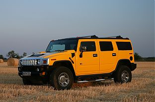 Hummer H2 Offroad fahren