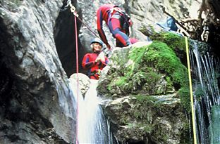 Canyoning Halbtagestour