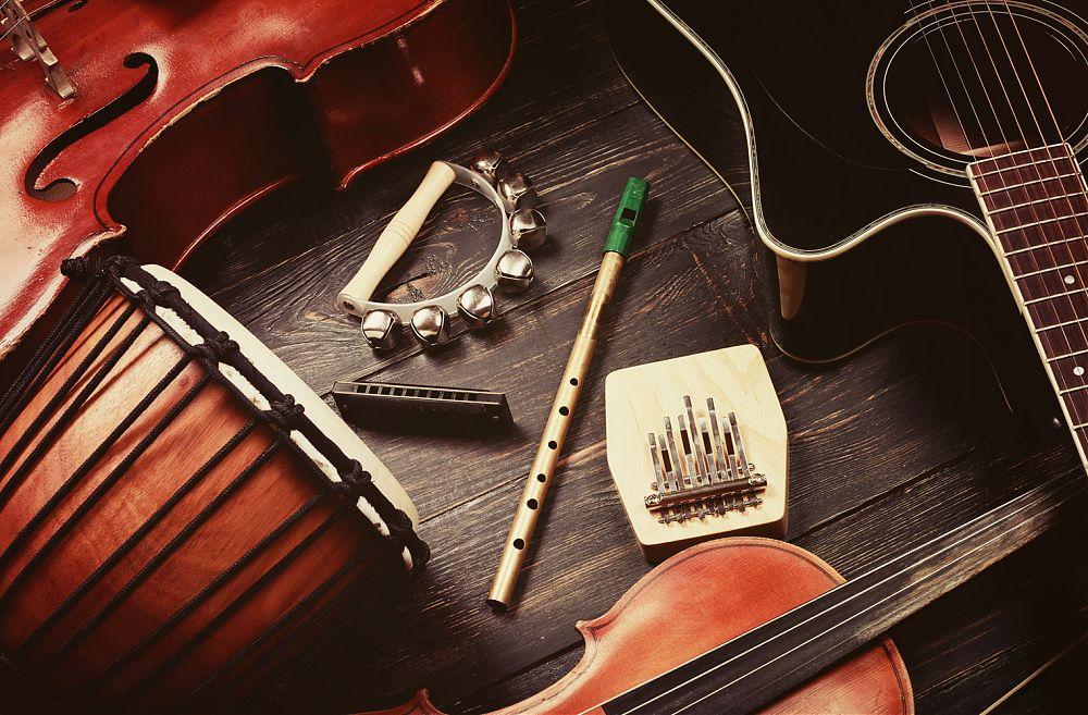 grunge musik hintergrund - Lizenzfreies Bild - #5634463