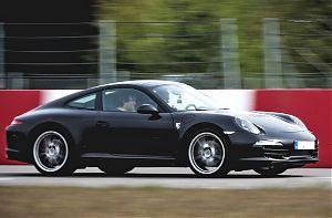 Porsche fahren rennstrecke