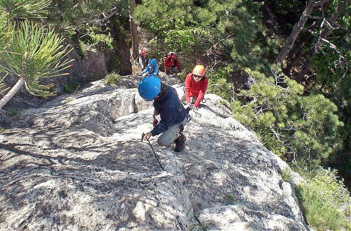 Klettersteig Wien : Schöner einsteiger klettersteig mit guide inkl ausrüstung