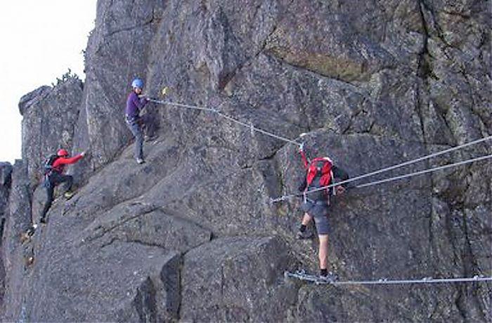 Klettersteig Kitzbühel : Klettersteig gehen 4 stunden tour erlebe jollydays