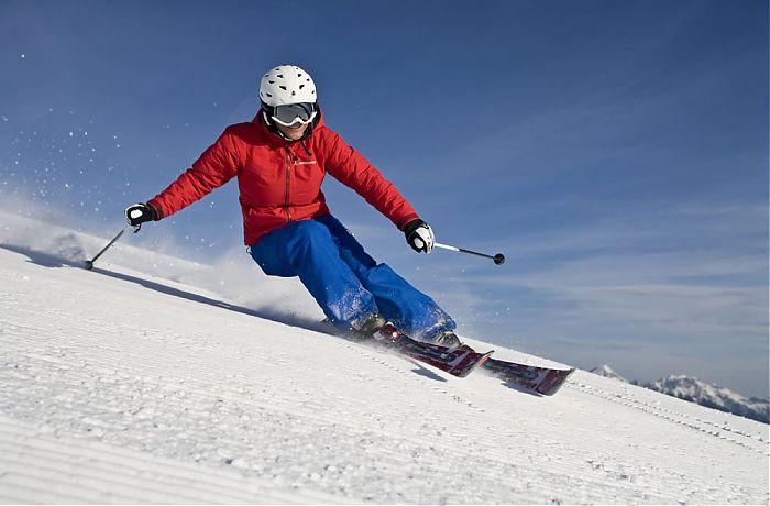 Skikurs stunden carvingtraining für personen erlebe