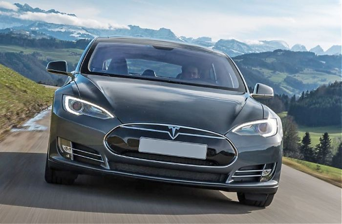 e auto selber fahren tesla model s in wien mieten 3. Black Bedroom Furniture Sets. Home Design Ideas